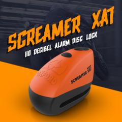 New from Oxford: Screamer XA7 alarm disc locks