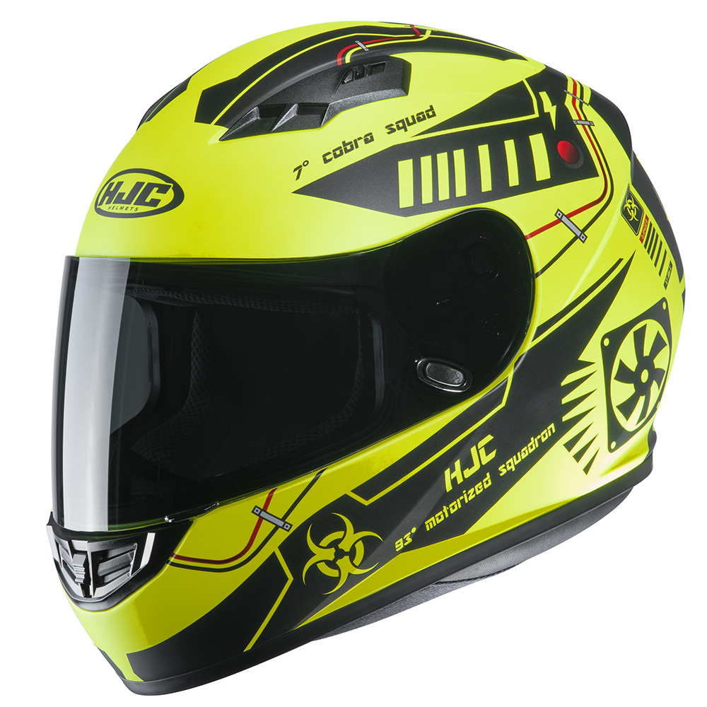HJC CS-15 Tarex MC4HSF Fluo