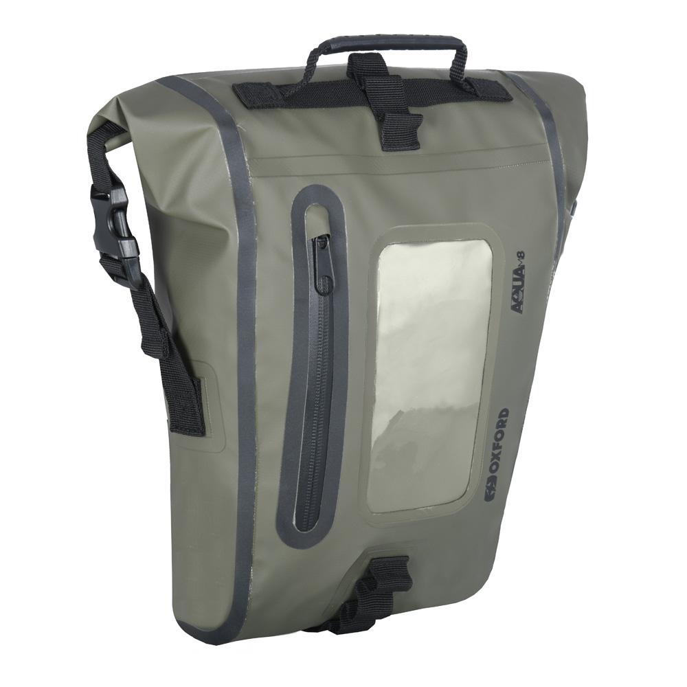 Oxford Aqua M8 Tank Bag Khaki/Black