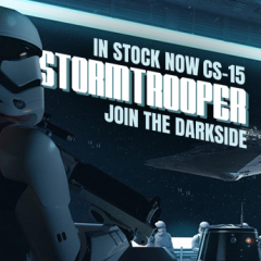 HJC's CS-15 Stormtrooper in stock now...