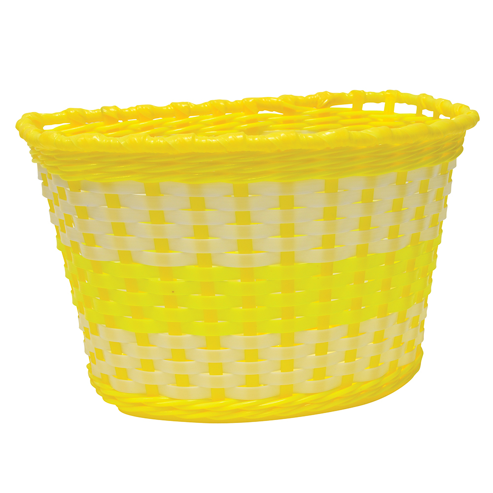 Oxford Junior Woven Basket - Yellow