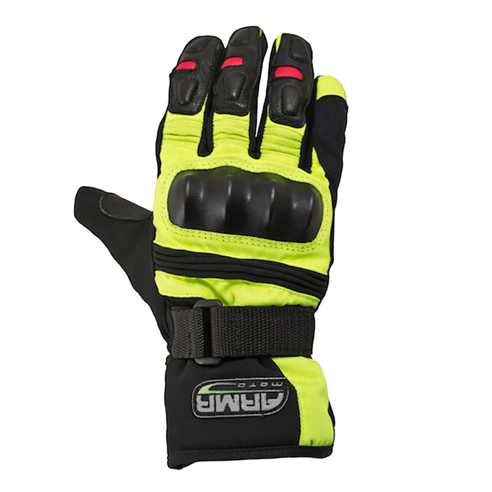 ARMR Kiso (WP525) Glove - Black & Fluo Yellow