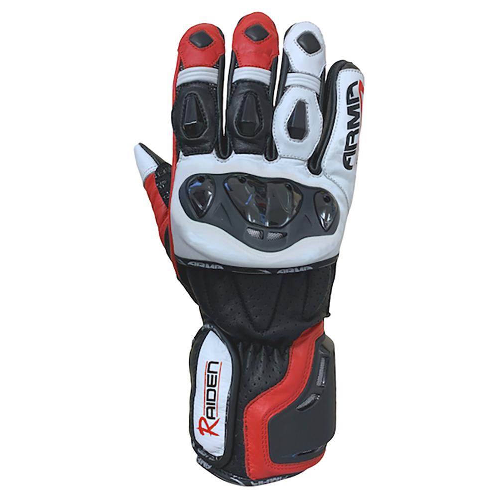 ARMR Raiden (S950) Gloves - Black & Red