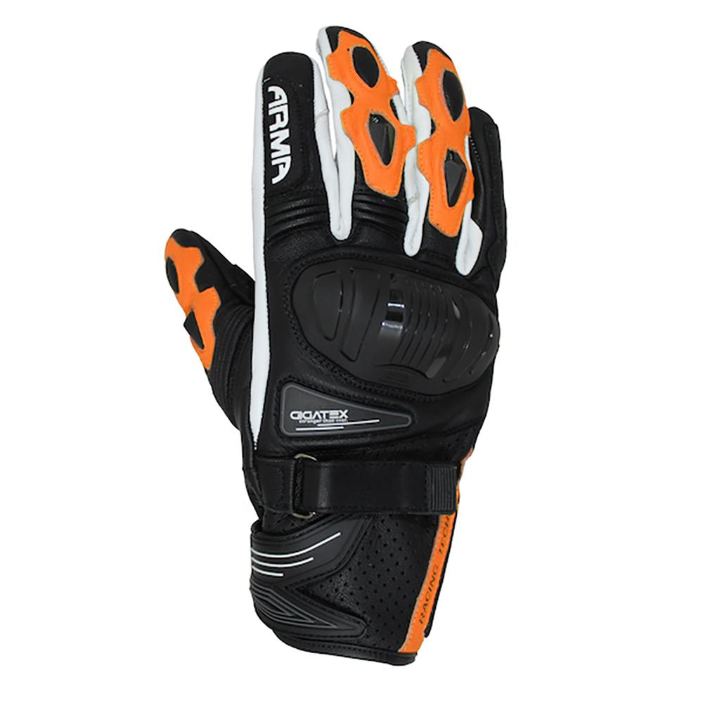 ARMR Shiro (S880) Glove - Black & Orange & White