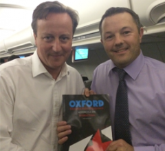 Travelling with the PM: the diary of an Oxford delegate