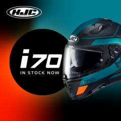 HJC's New i70 - In Stock Now
