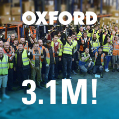 Oxford celebrates all-time record month!