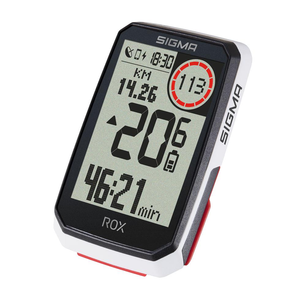 Sigma ROX 4.0 GPS Cycle Computer (White) Sensor Set