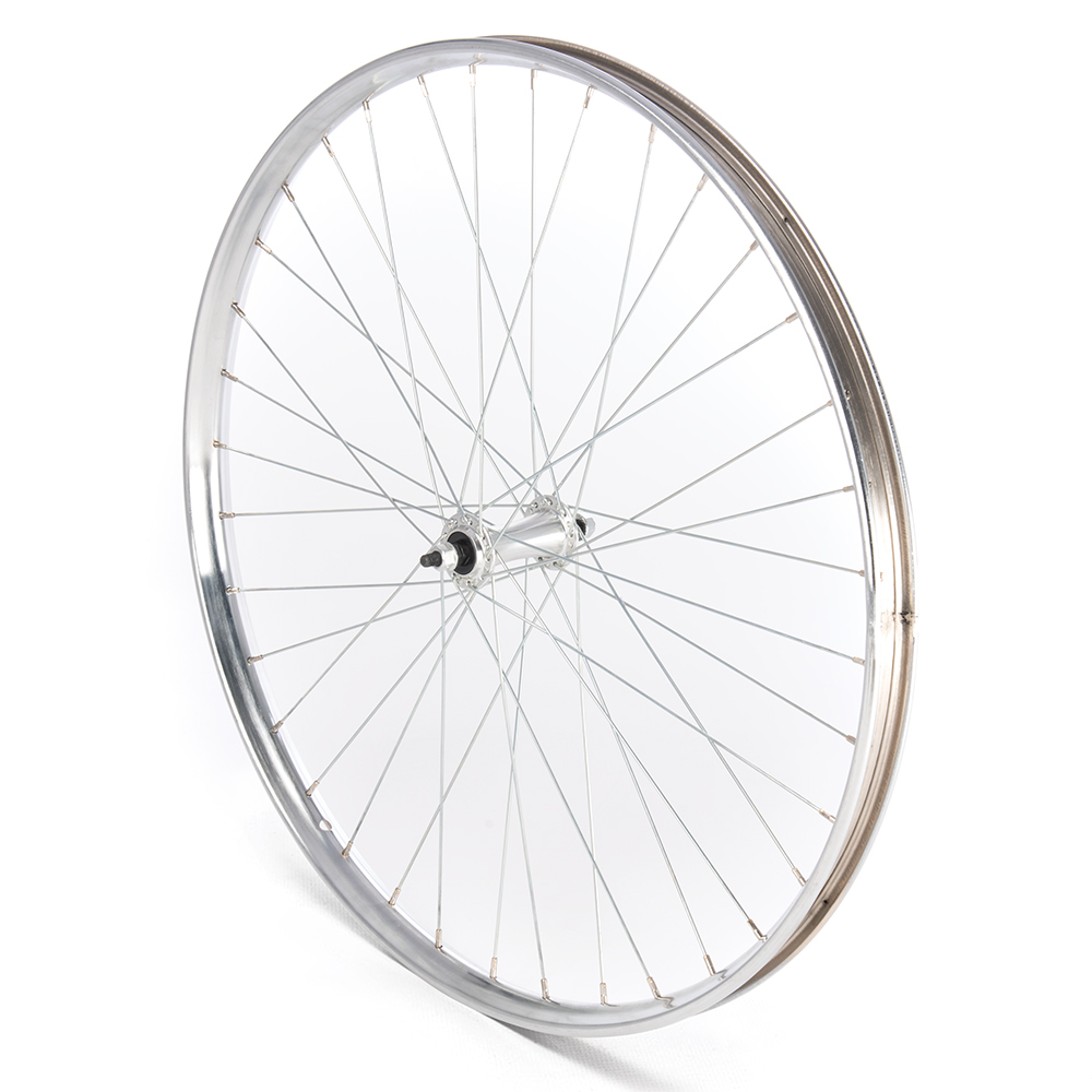 Front Wheel 26 x 1 1/2 Westwood Silver Nutted