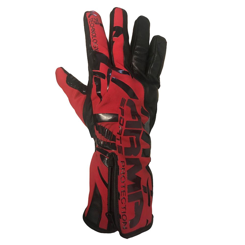 ARMR Kruga (WP850) Glove - Black & Red