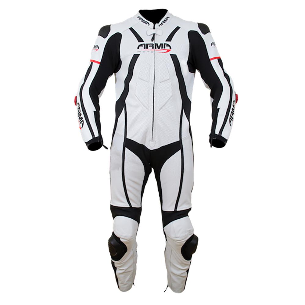 ARMR Harada R 2020 Race Suit - White & Black