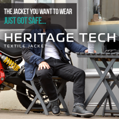 The Heritage Tech Jacket new and in stock now from Oxford!