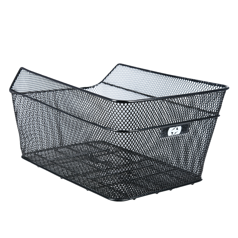 Oxford Wire Rear Basket with fittings - Black