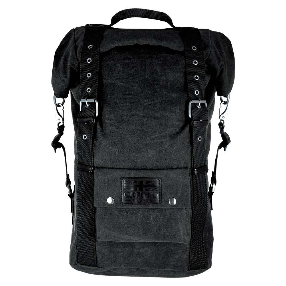 Oxford Heritage Backpack Black 30L