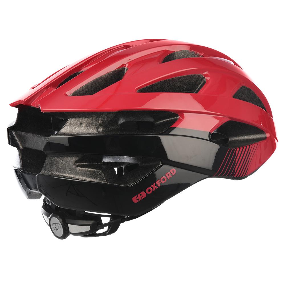 58-61cm Matt Red Oxford Raven Road Helmet