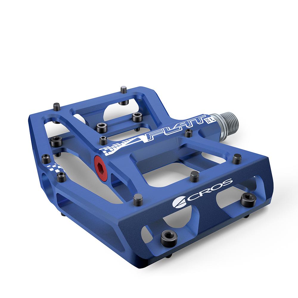 Acros A-Flat XL Pedals - Blue