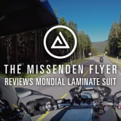 Oxford's new Mondial laminate suit - reviewed by The Missenden Flyer