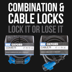 New Cable & Combi Locks - In Stock Now!
