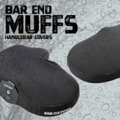 NEW Bar End Muffs - IN STOCK NOW!
