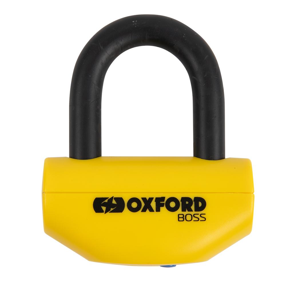 Oxford Boss 12.7mm Disc Lock Yellow