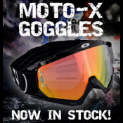 New from Oxford: Moto-X Goggles now in stock!