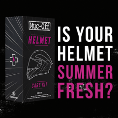 Is Your Helmet Summer Fresh?