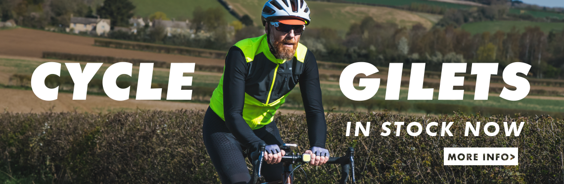 Cycle Gilets - in stock now!