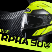HJC's new Compact Premium System helmet – RPHA 90S – is here!