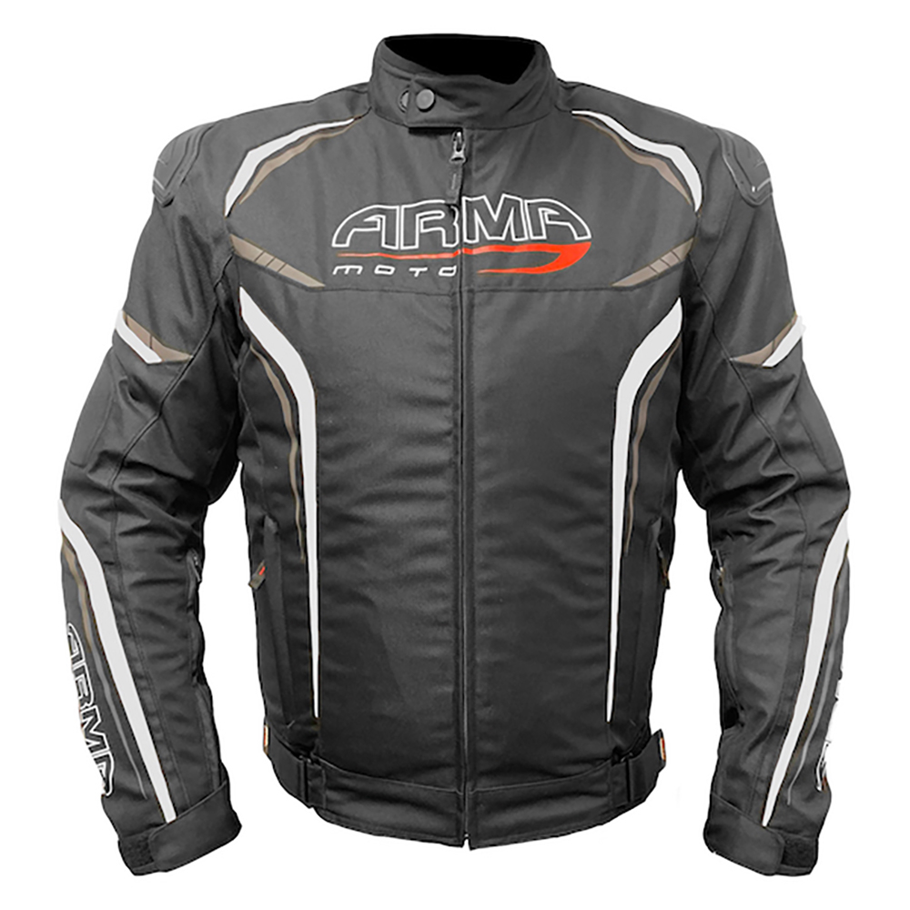 ARMR Harada R Textile Jacket - Black & White