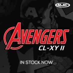 Be your own hero!Avengers MX Helmet from HJC in stock now!