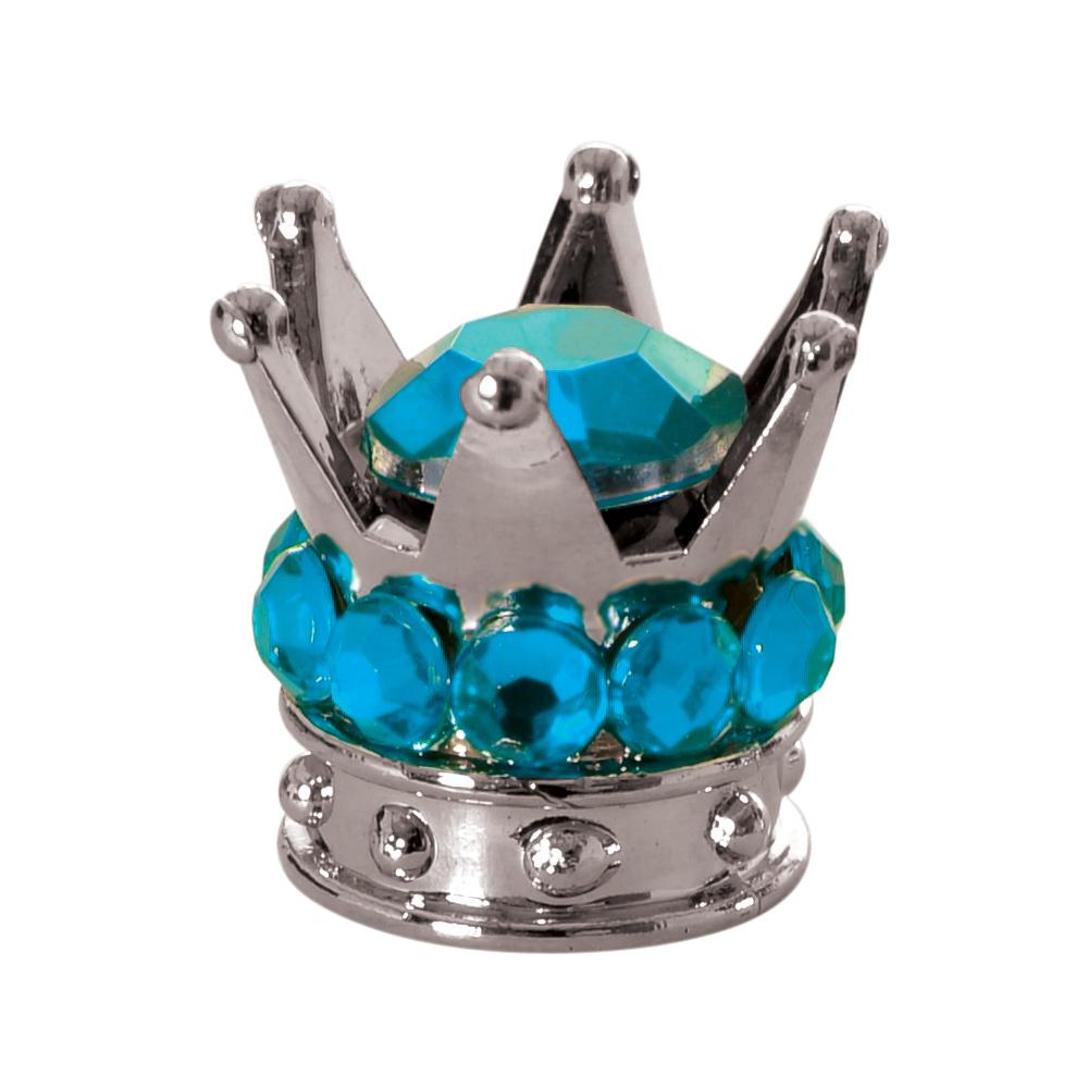 Oxford Junior Crown Valve Caps-Blue