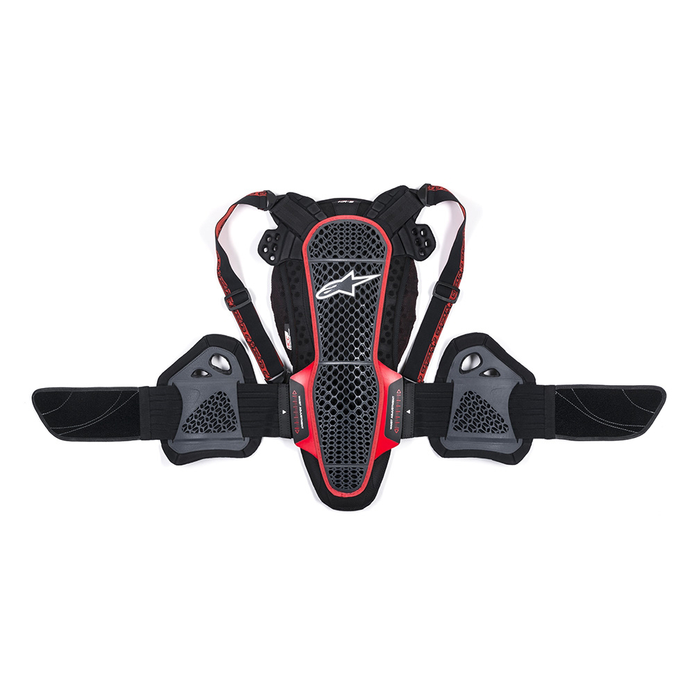 Alpinestars Nucleaon KR-3 Smoke Black Red