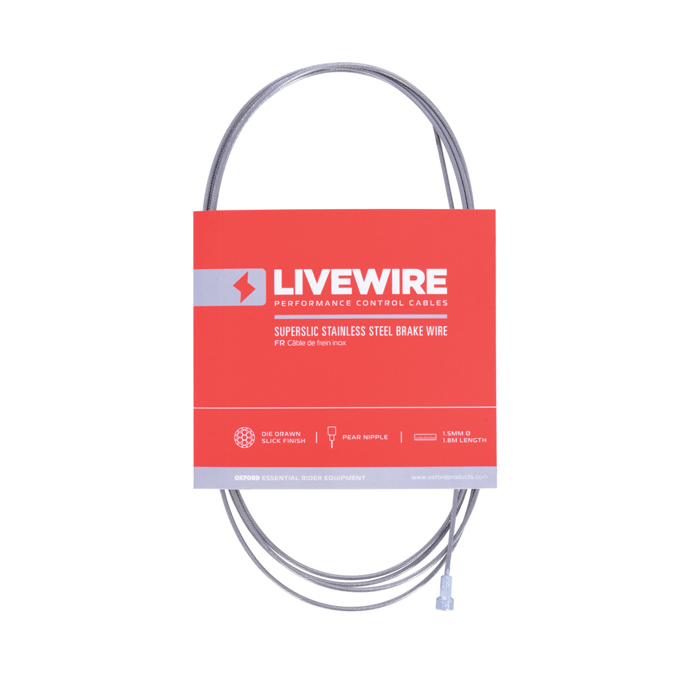 LiveWire SuperSlic Stainless Brake Wire 1.5mm x 1.8m