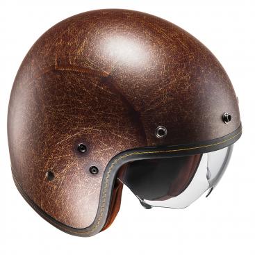 Red//White//Blue S HJC FG-70S Modik Open Face Retro Motorcycle Bike Helmet