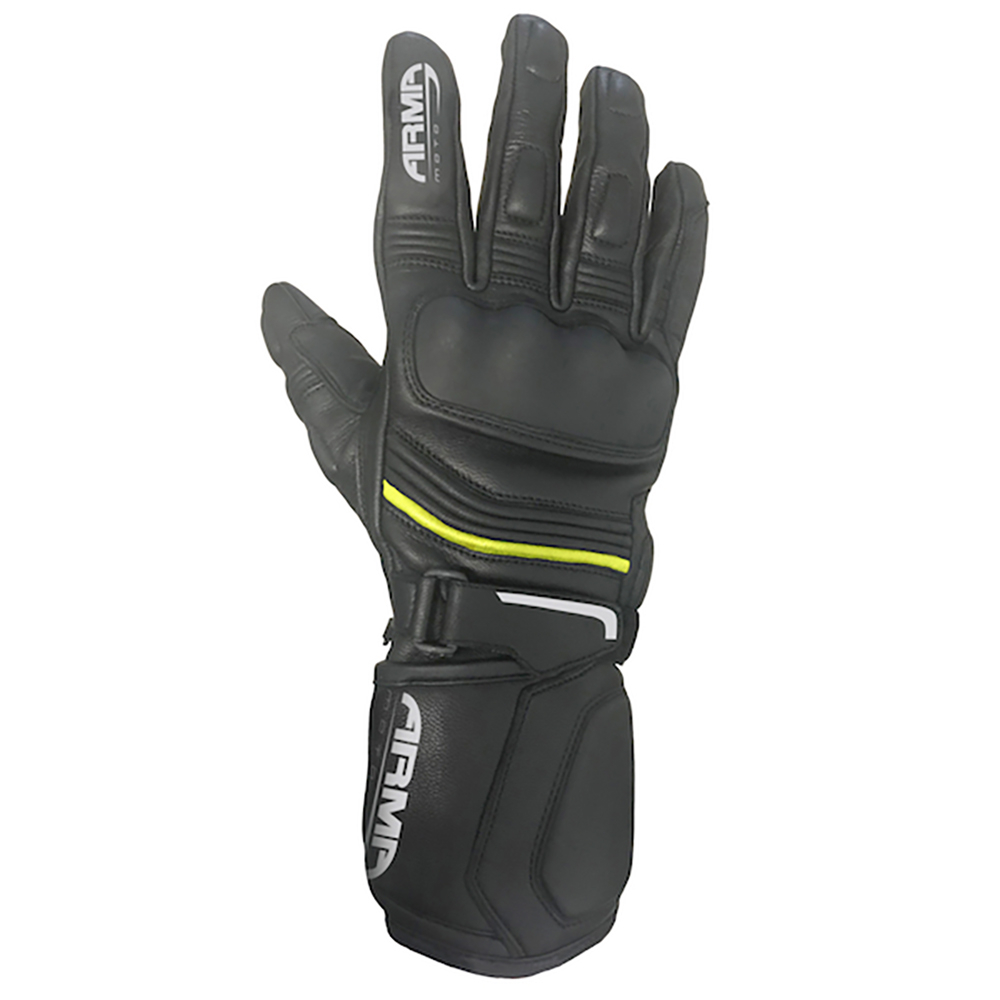 ARMR Kumaji (WPL860) Glove - Black & Fluo Yellow