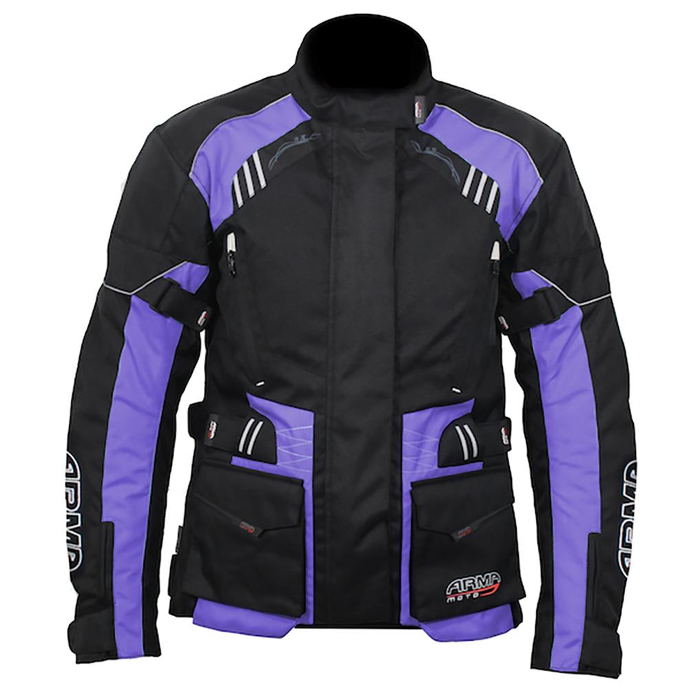 ARMR Kiso 3 Ladies Jacket - Black & Plum