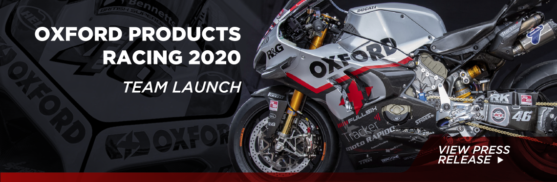 Oxford Products Racing 2020 - Team Launch