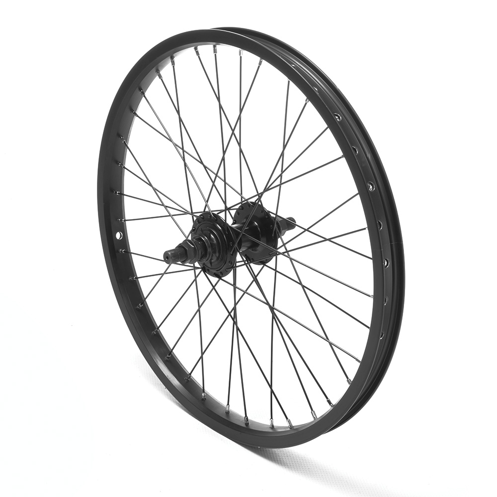 Rear Wheel 20'' BMX Black 9T Cassette