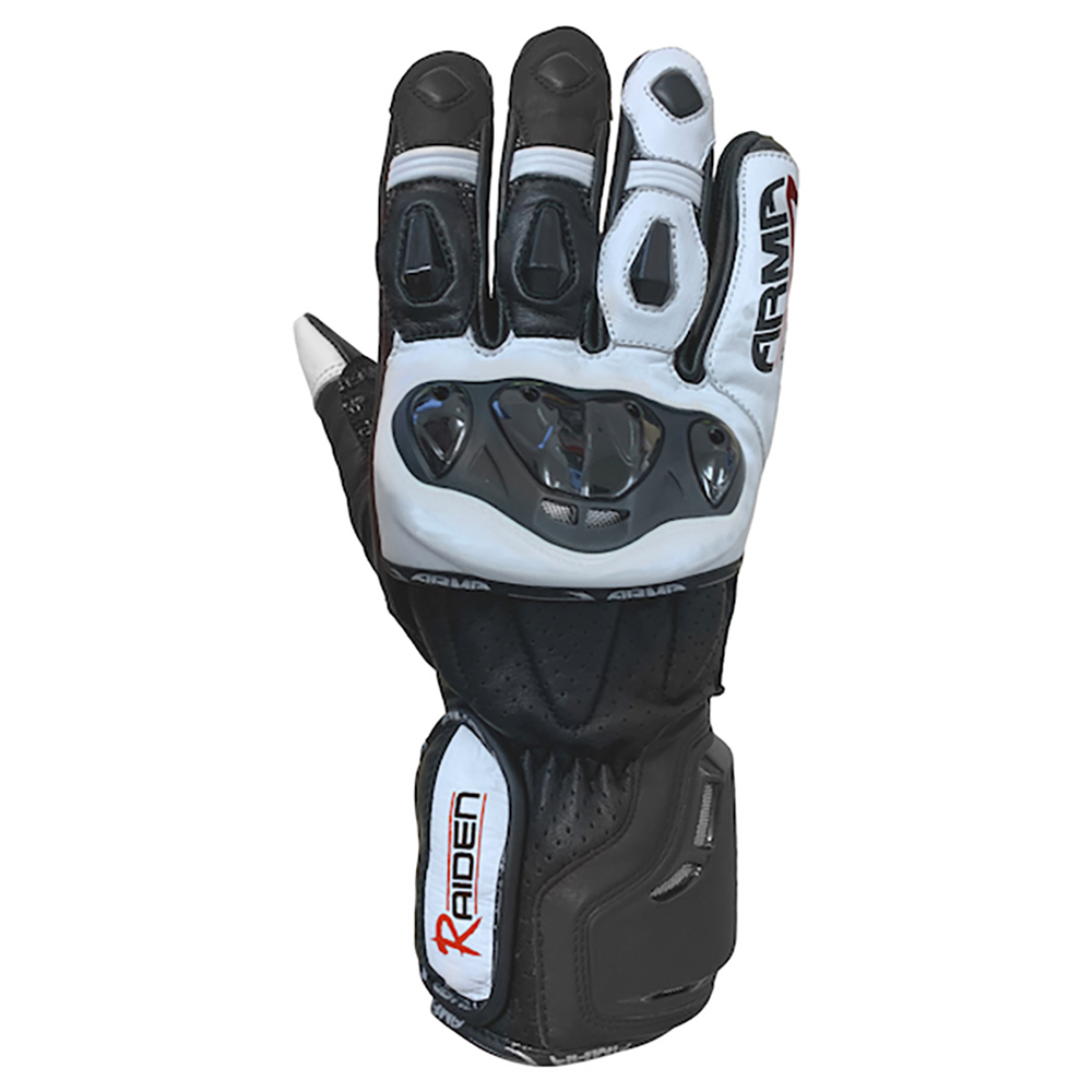 ARMR Raiden (S950) Gloves - Black/White