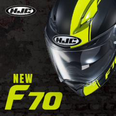 New HJC F70 - in stock now!
