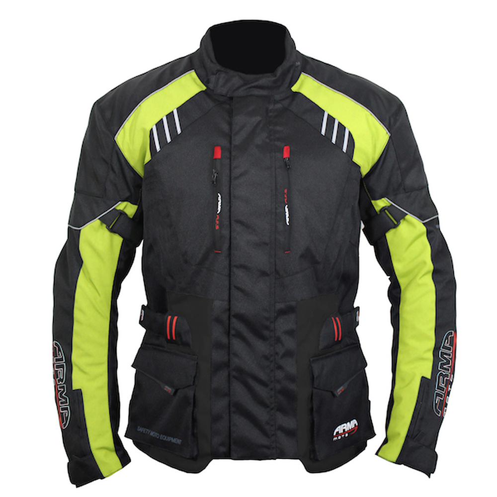 ARMR Kiso 3 Jacket - Black & Fluo Yellow