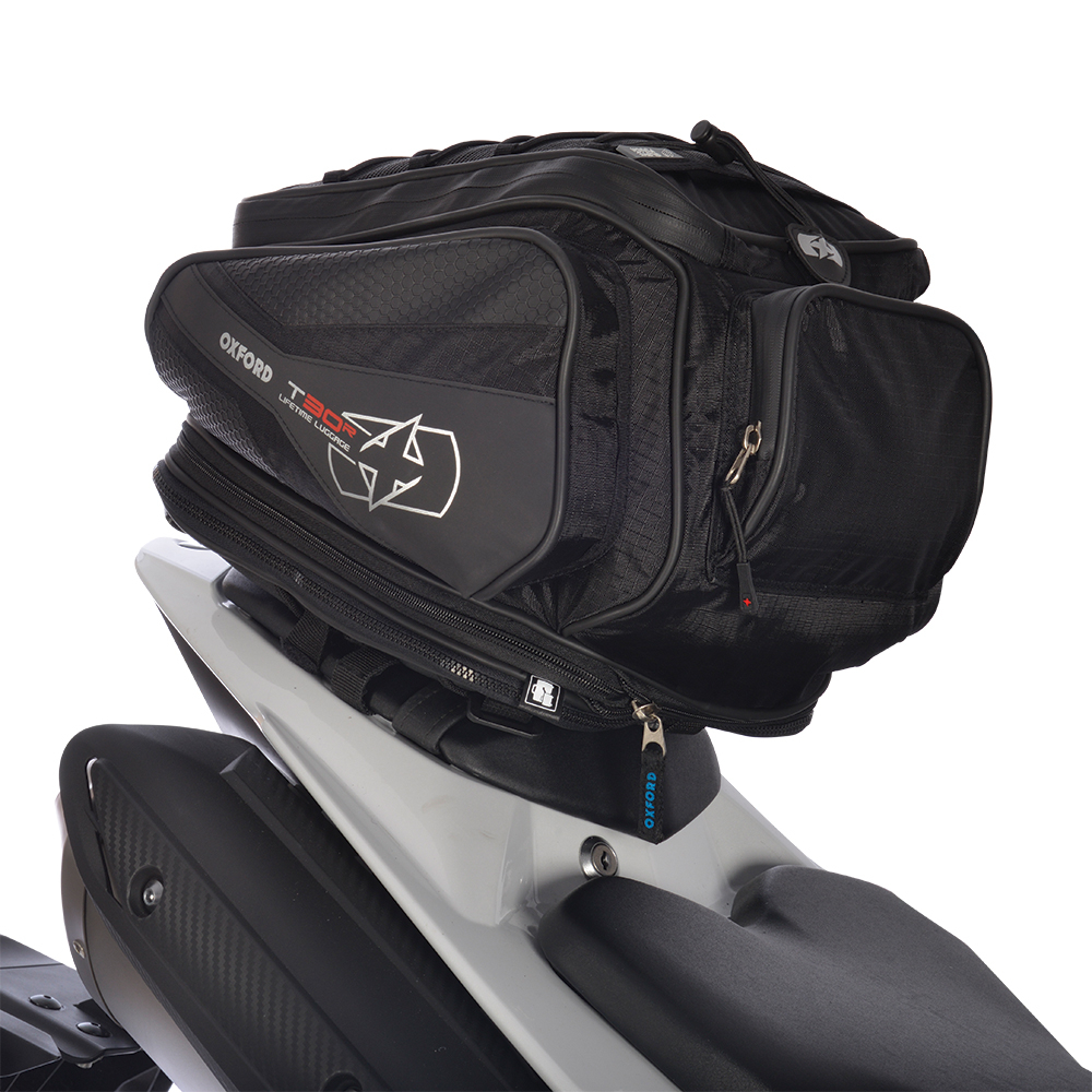 Oxford T30R TAILPACK - BLACK