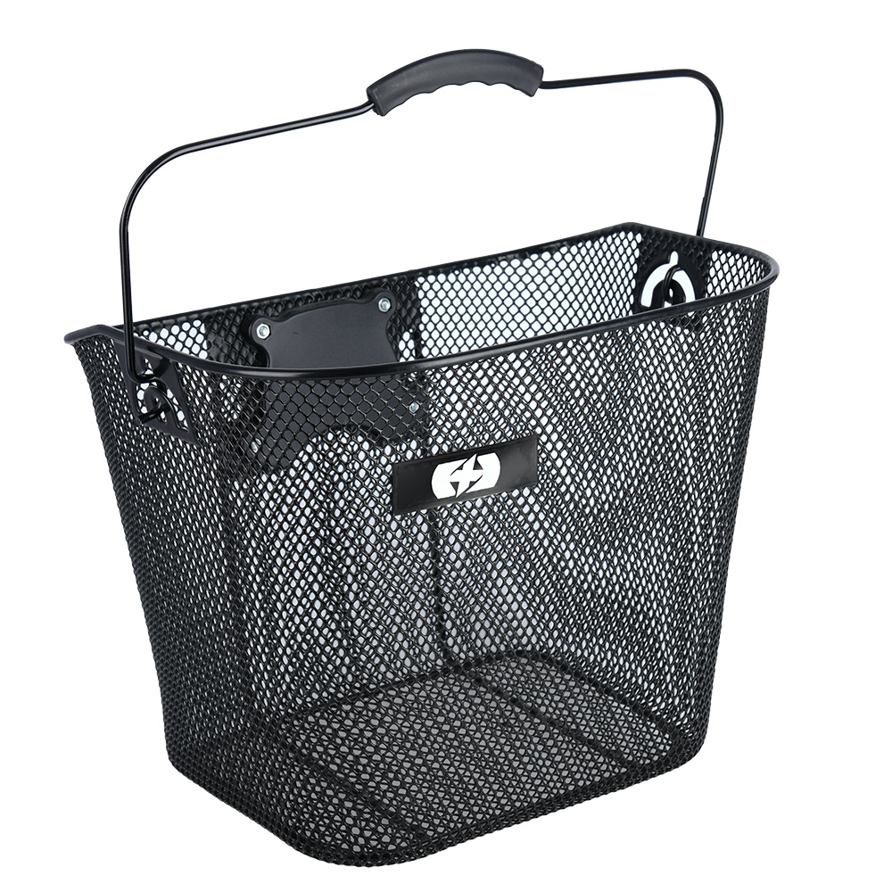 Oxford Wire Front Basket Quick Release - Black