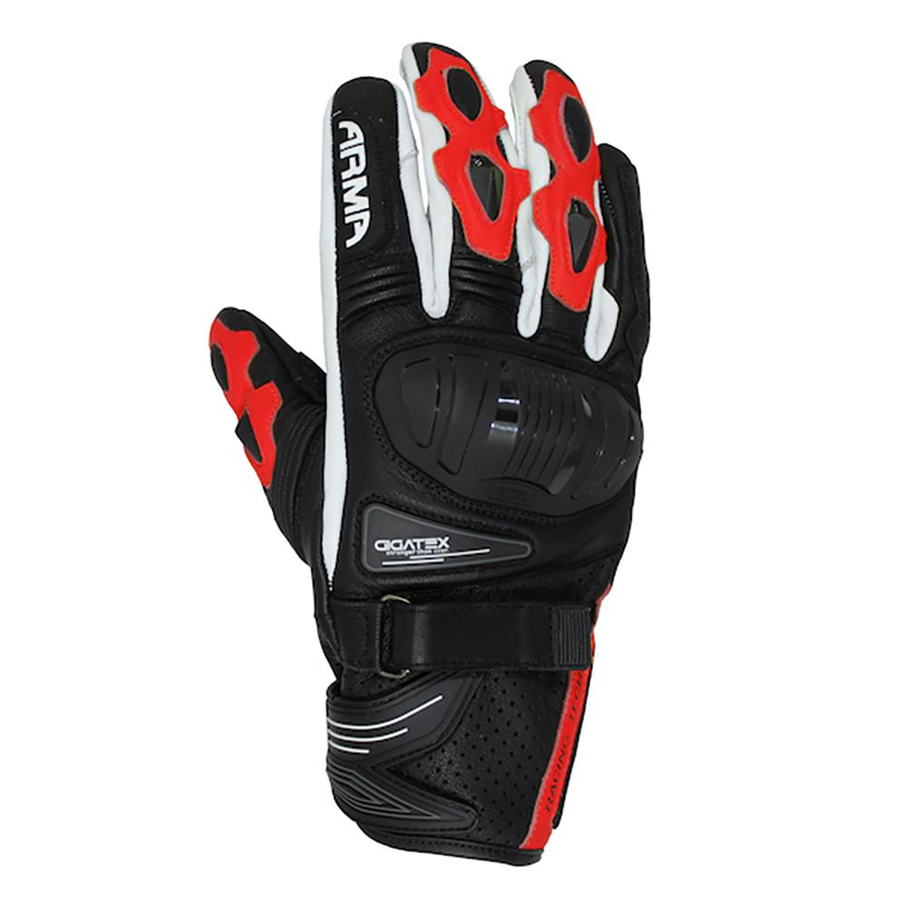 ARMR Shiro (S880) Glove - Black & Red & White