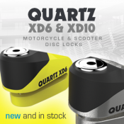 New from Oxford: Quartz XD6 & XD10 disc locks now in stock!