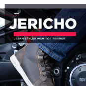 In Stock Now: Urban styled Jericho High-Top Trainer
