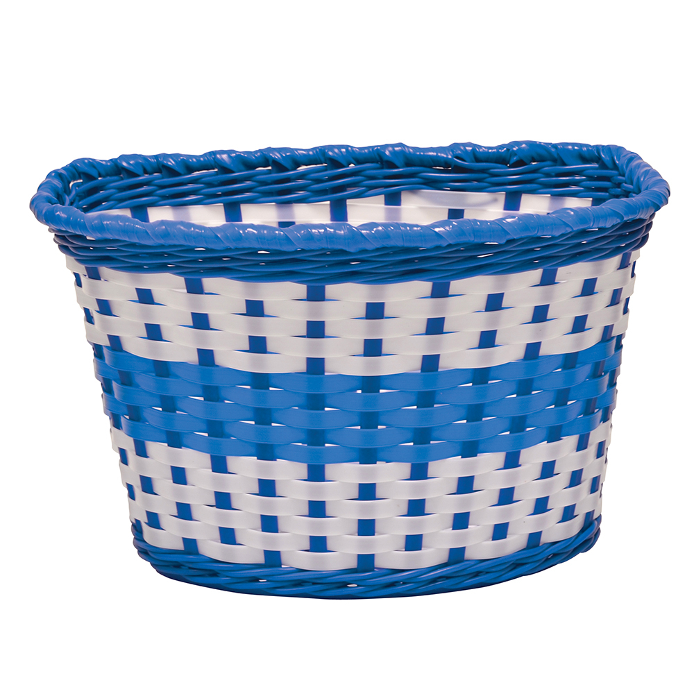 Oxford Junior Woven Basket - Blue