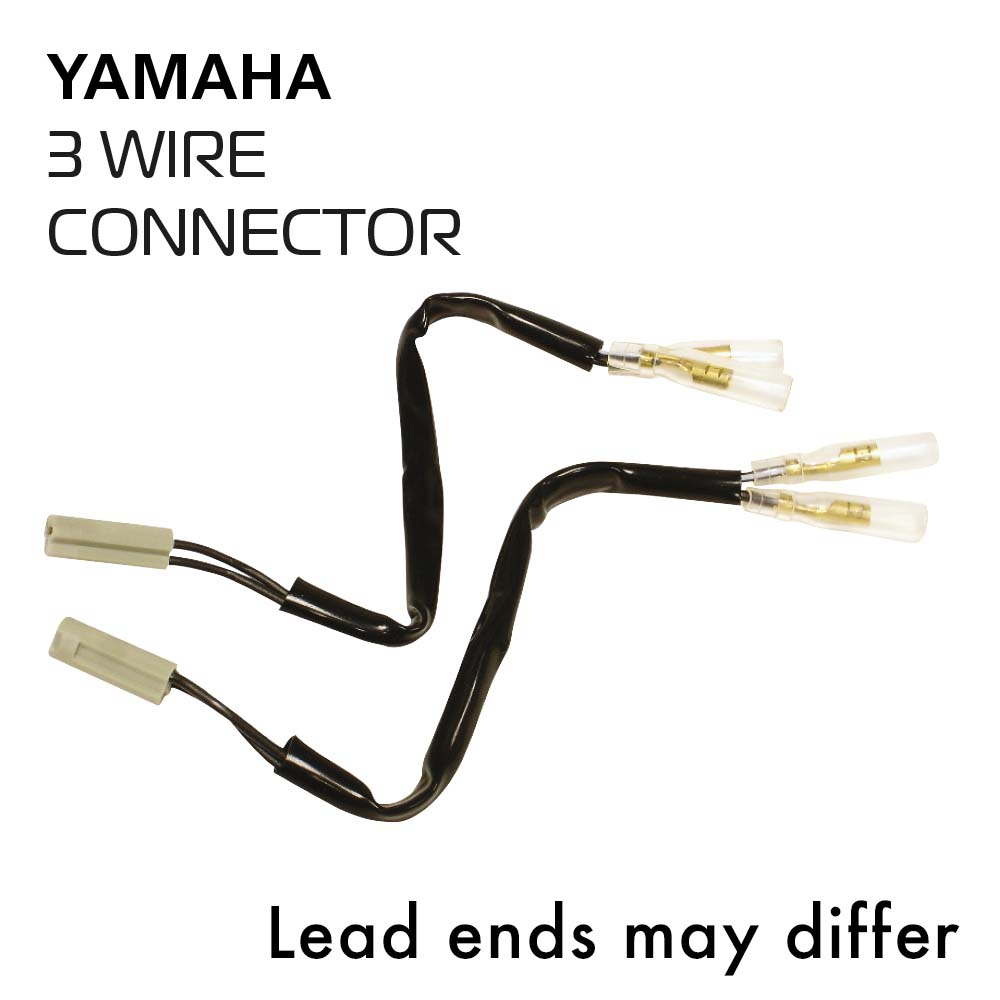 Oxford Indicator Leads Yamaha 3 wire connector w/day light f
