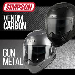 Simpson Venom Carbon & Gun Metal - In Stock Now!