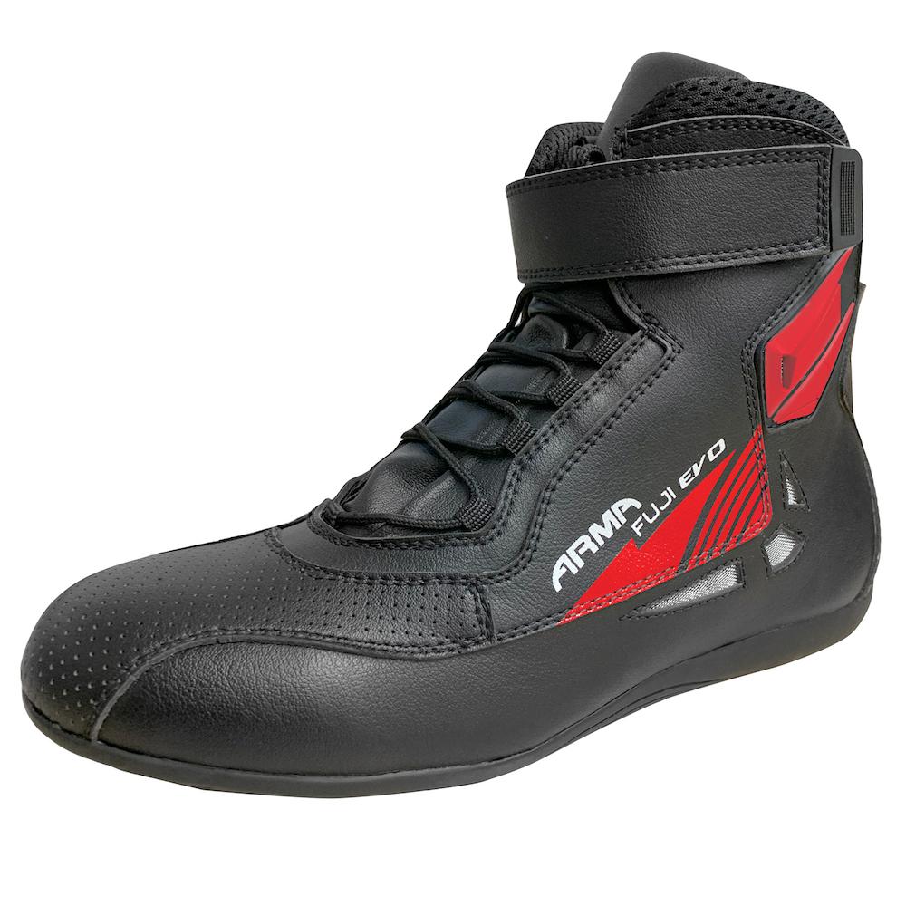 ARMR Fuji Evo Boots - Black & Red